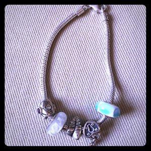 Chamilia Bracelet with 5 charms
